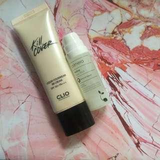 Clio kill cover liquid founwear bb cream