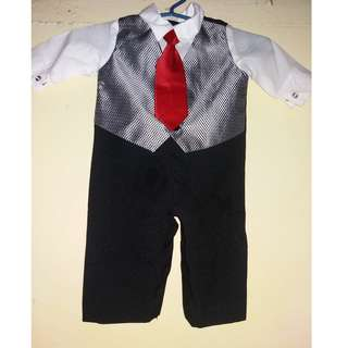 Holiday Editions Infant 4 piece Vest Set for 3-6 mos.