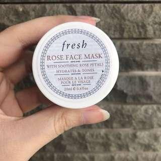 Fresh Rose Face Mask 20ml