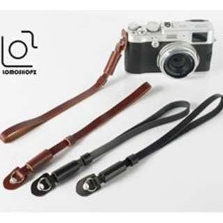 Genuine Leather Camera Hand Wrist Strap