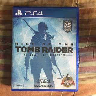 WTS Rise of The Tomb Raider (PS4)