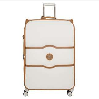 Delsey 全新CHATELET SOFT +77 cm 4 double wheels expandable trolley case行李箱