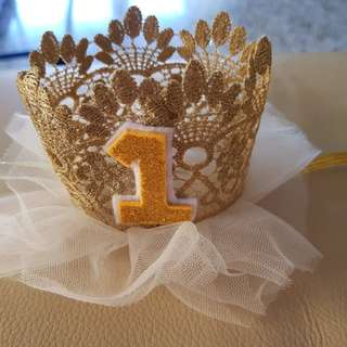 1 year princess crown
