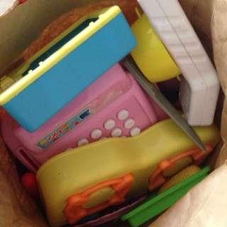 Masak-masak toys (give away)
