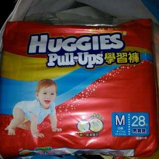 HUGGIES(M碼)學習褲