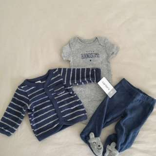 Baby Boy Clothes - Carters