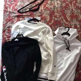 Champion hoodie sweat shirt Long sleeve
