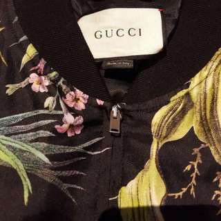 Authentic Gucci Silk Jacket