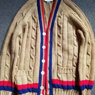 Authentic Gucci Cardigan