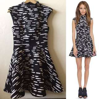 Cameo Collective black white skater dress size xs