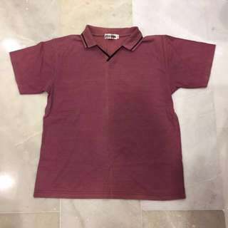 Body Guard - Marroon Polo - M size