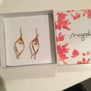 MAGNOLIA Silver jewellery earrings