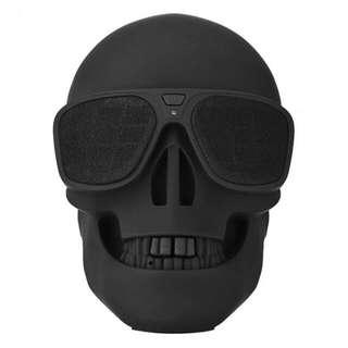 Portable Wireless Bluetooth Mini Skull Speaker 8W Subwoofer for PC Laptop/Cell Phone