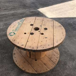 Cable roll Coffee table
