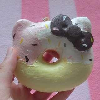 自製kitty甜甜圈squishy