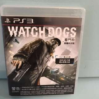 PS3 Watch Dogs 看門狗