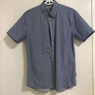Collared Stripes Shirt