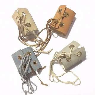 日本購入編織髮帶 馬甲蝴蝶結