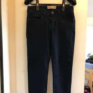 Skinny jeans navy 深藍色長褲