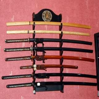 Customized katanas --Refer to description--