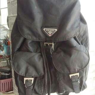 Authentic bag pack prada