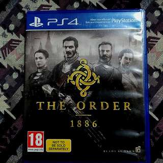 The Order 1886 BD PS4