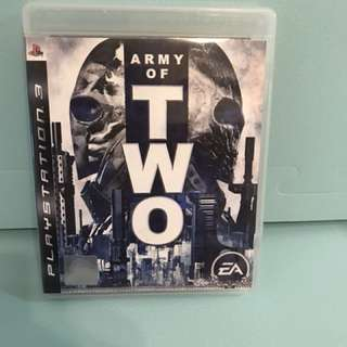 PS3 Army of Two 無間特攻