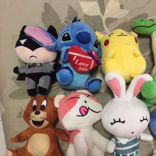 New Plush Toys from Crane Games