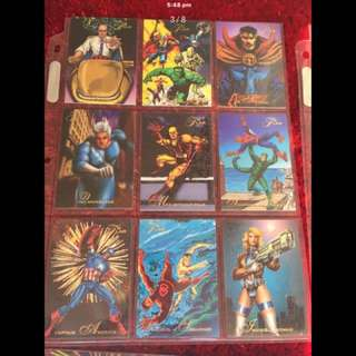 Marvel Flair '94 collectibles -full set