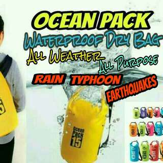 Ocean Pack Dry Bag Backpack style Low Price High Quality Beach Bag
