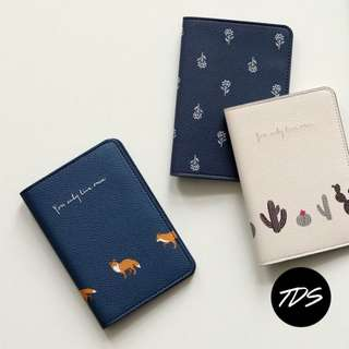 ⚡️ Fab Fox and Friends Travel Passport & Card Holder