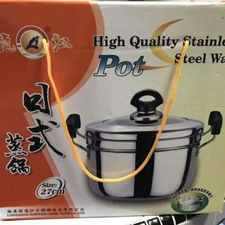 High Quality Stainless Steel Pot