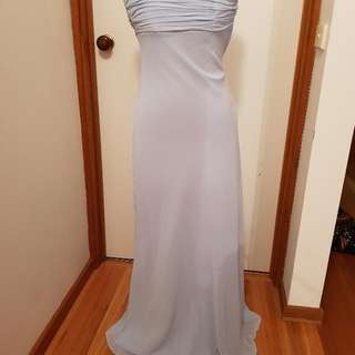 Hiltons, Baby Blue, Formal/Bridesmaide Dress, Size 8