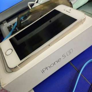 IPHONE 5S (16) Gold