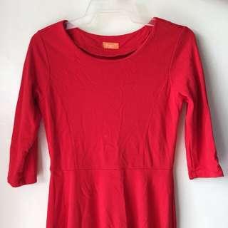 FAB Red Dress