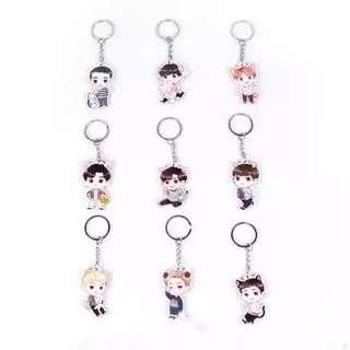 EXO Animal Keychain