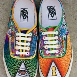 Custom Vans Off the Wall
