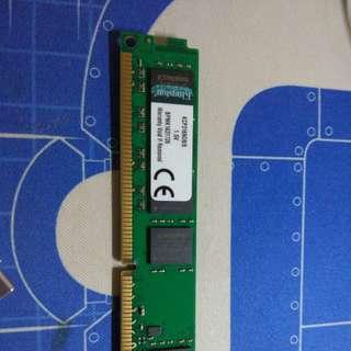 Kingston DDR3 RAM 8G1600