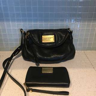 Marc Jacobs Mini Natasha bag with Marc Jacobs wristlet
