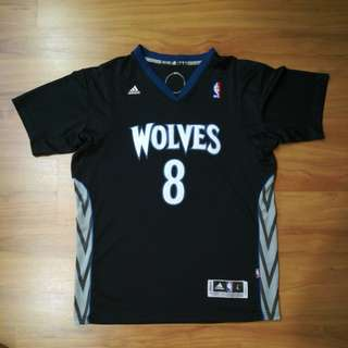 Sleeved Jersey 2017 Timberwolves
