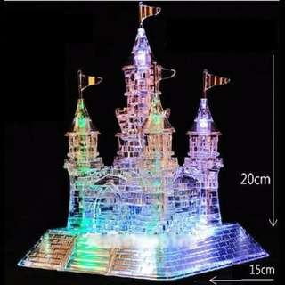 CASTLE 3D CRYSTAL PUZZLE