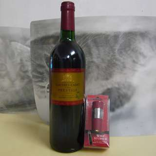 2010 Gauthey Cadet & Fils Prestige 法國 紅酒+Wine Stopper瓶塞