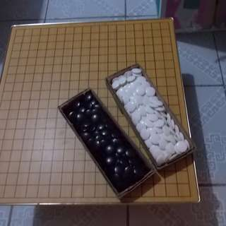 Folding Japanese Go Board Game