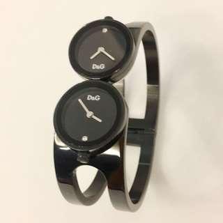 D & G  女裝手錶 手額型