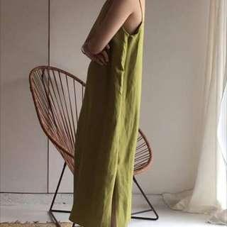 Room4 棉麻洋裝