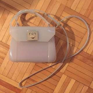 Furla Jelly cross body purse mini size