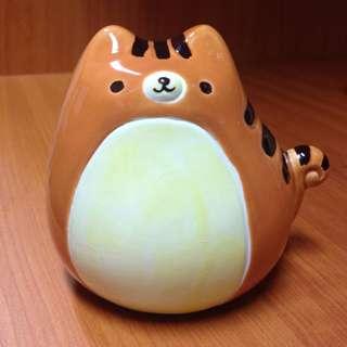 可愛貓咪陶瓷小撲滿存錢罐 #交換最划算 #含運最划算