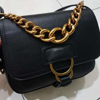 Mel & Molly Caggie Bag in Black