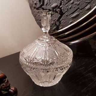 Mesmerizing Handmade Crystal Dish