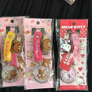 日本hello Kitty /rilakkuma 護士表